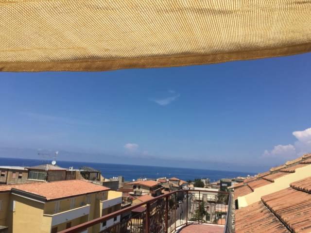 Attico con ottima vista mare in vendita a Tropea