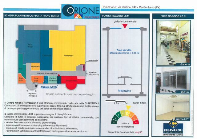 ORIONE POLYCENTER
