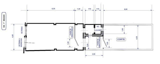 Pontedera centro - AFFITTASI locale commerciale Rif. 5009098