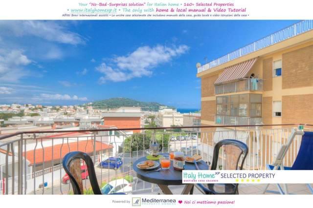 202 Appartamento Gaeta Serapo Wifi AriaCo. Balcone