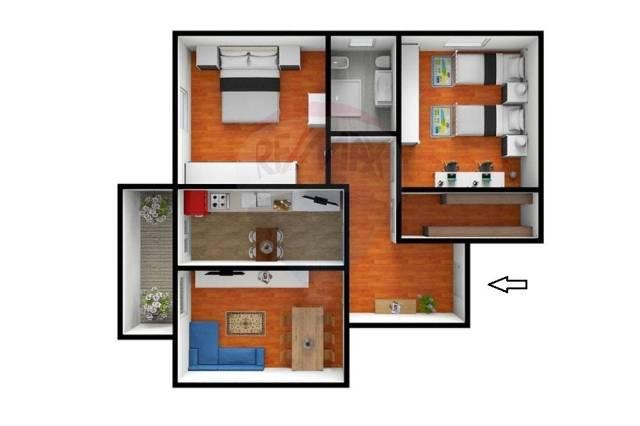 Appartamento trilocale in vendita a Livorno (LI)