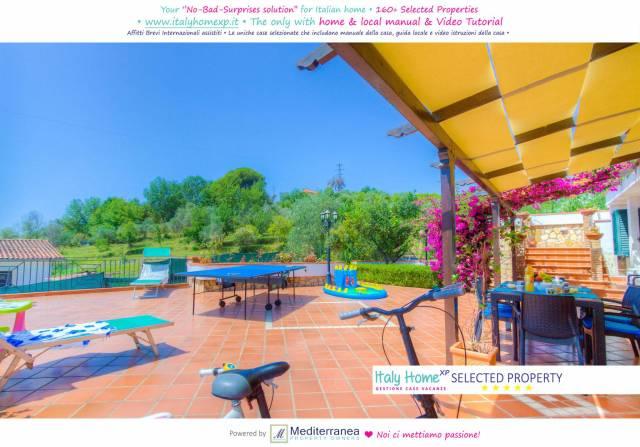 C218Minturno-3camere 2bagni patio vivibile con piscina airco
