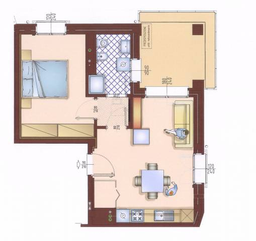 Appartamento in affitto Rif. 4522770