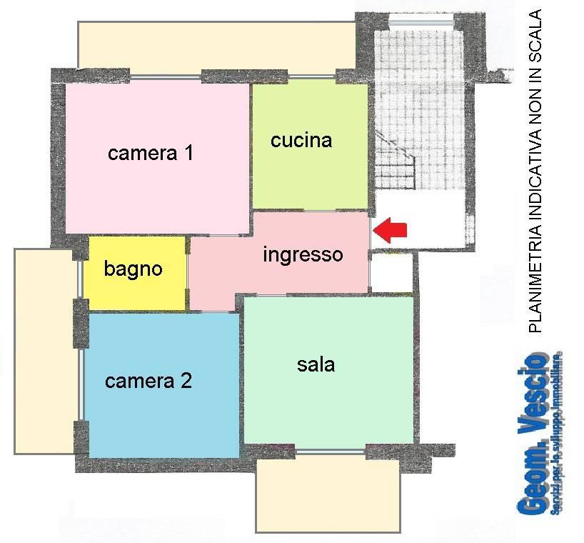 Appartamento in buone condizioni in affitto Rif. 8173279