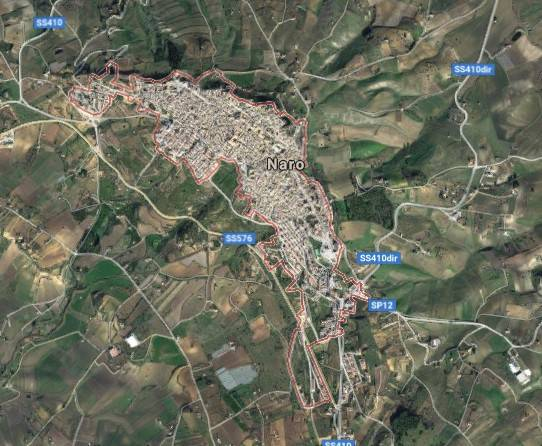 Terreno agricolo in vendita a Naro (AG)