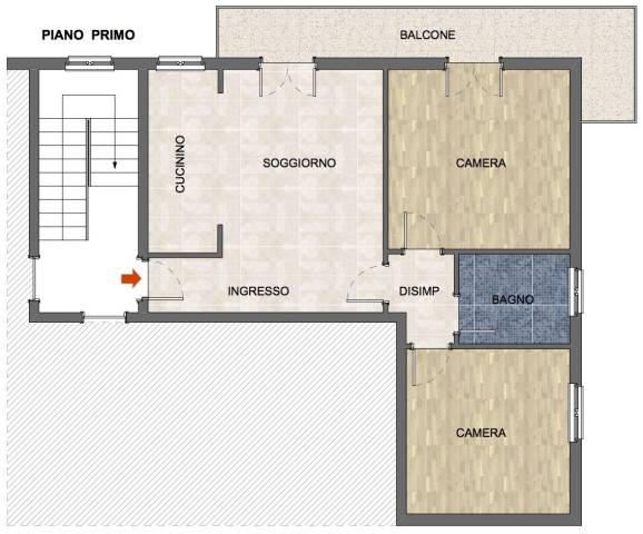 Appartamento in buone condizioni in vendita Rif. 5561184