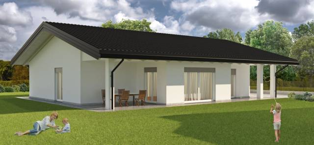 Villa lurate caccivio vendita 209 mq for A forma di casa con piano piano unico