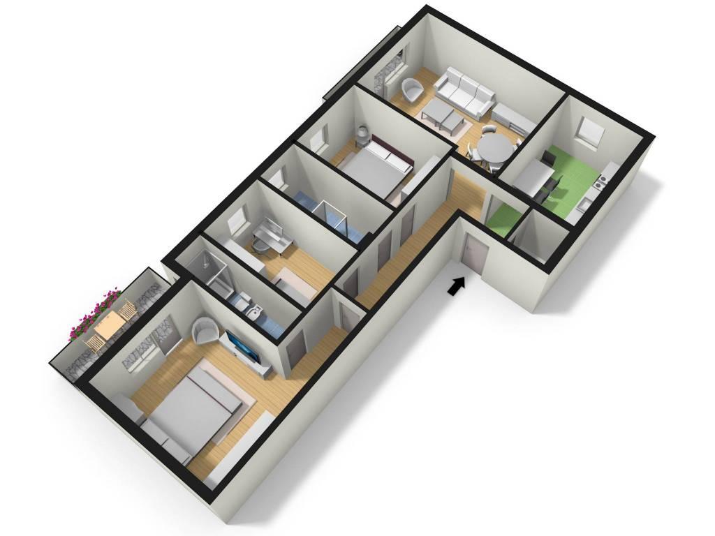 Appartamento in vendita a Meduna di Livenza, 4 locali, prezzo € 110.000   PortaleAgenzieImmobiliari.it