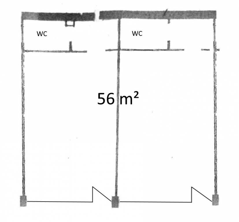 56 m² negozio in Galleria Ariston Rif. 5589665