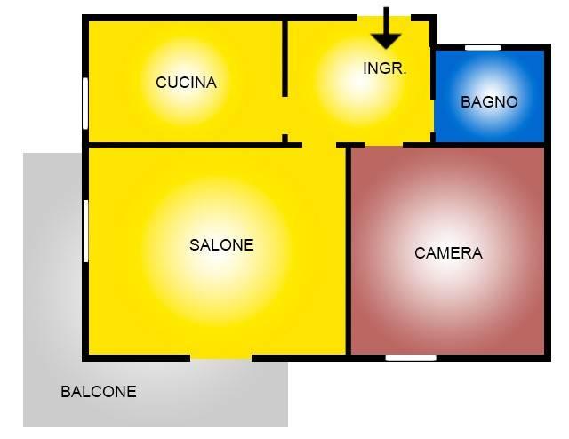 Appartamento in vendita a Roma, 2 locali, prezzo € 145.000 | CambioCasa.it