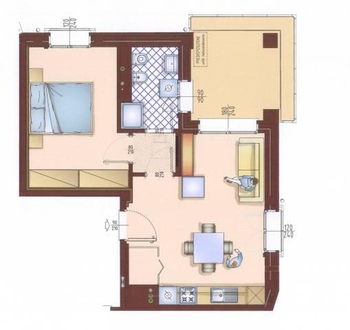 Appartamento in vendita Rif. 5656291
