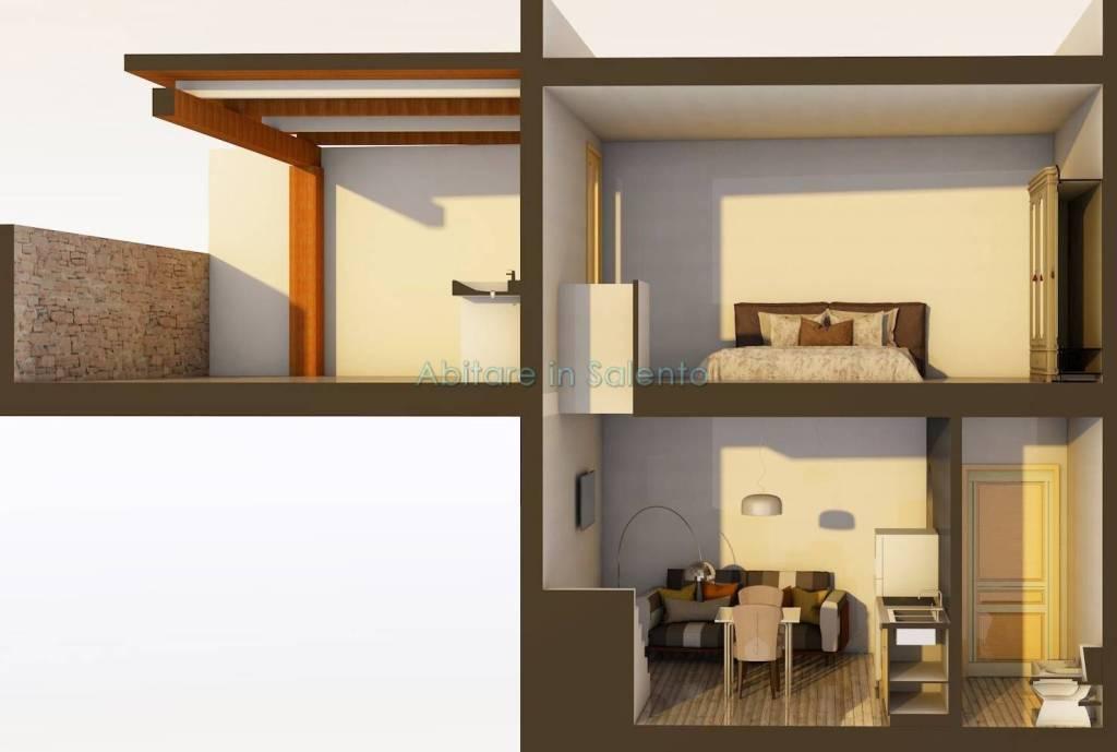 Appartamento in vendita a Specchia, 2 locali, prezzo € 43.000 | PortaleAgenzieImmobiliari.it