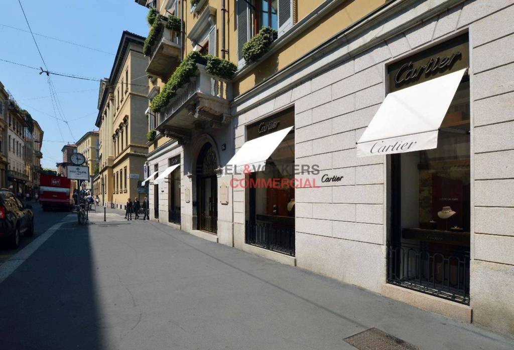 Ufficio showroom temporary a Milano Quadrilatero della Moda Rif. 6354862