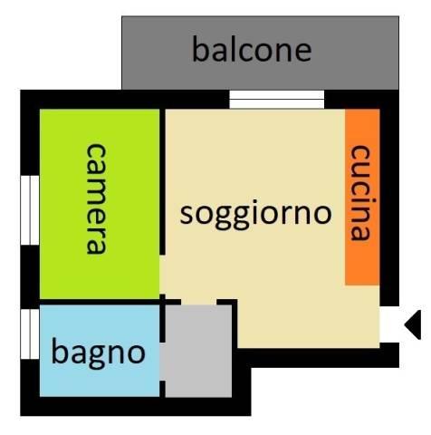 Appartamento in ottime condizioni in vendita Rif. 5888395