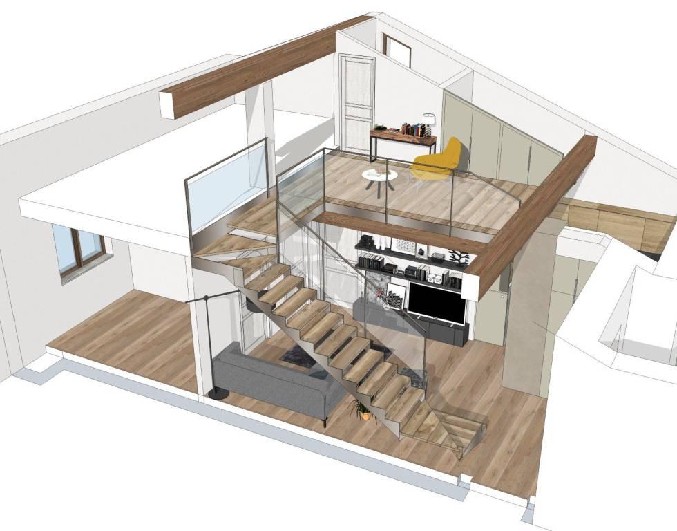 Appartamento in vendita a Bernezzo, 5 locali, prezzo € 210.000 | CambioCasa.it