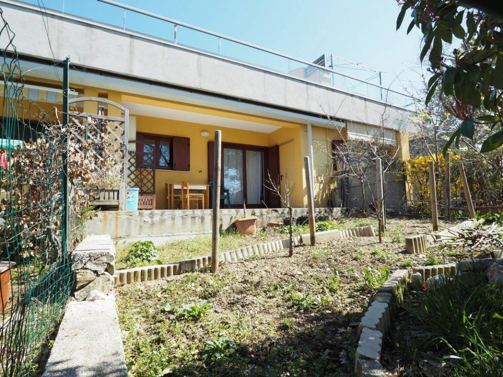 Appartamento con giardino in residence zona Basovizza
