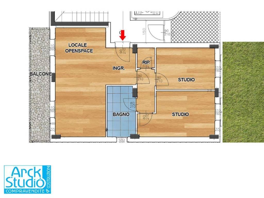 Ufficio / Studio in vendita a Inzago, 3 locali, prezzo € 197.500 | CambioCasa.it