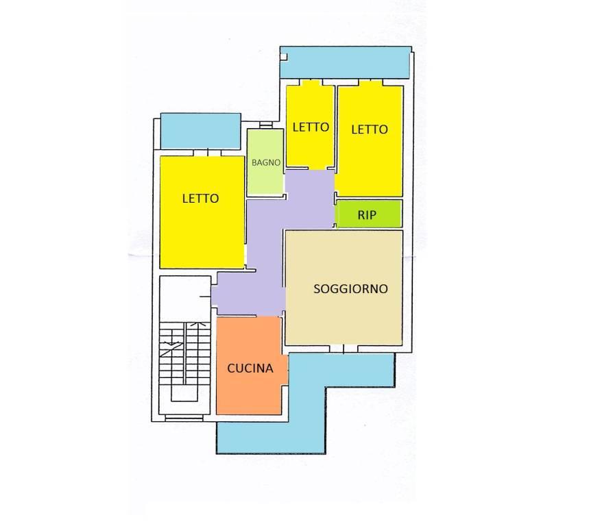 Appartamento in buone condizioni in vendita Rif. 6126904