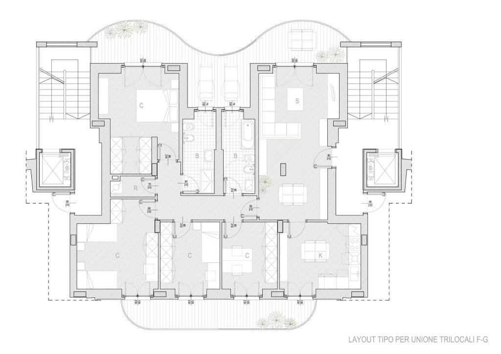 Appartamento in vendita Rif. 9334396