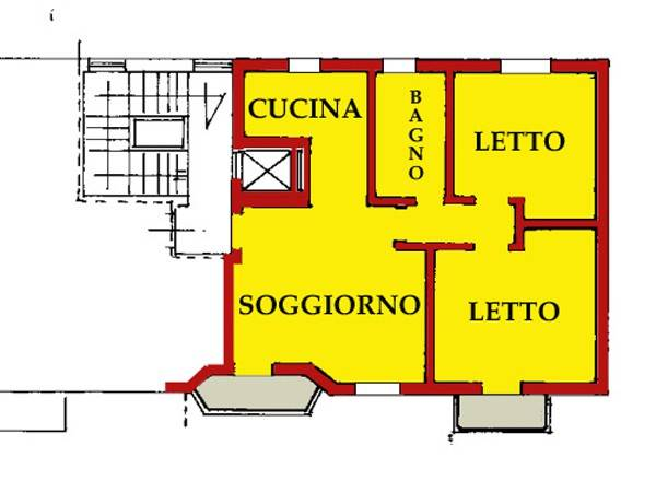 Appartamento in buone condizioni in vendita Rif. 6310992