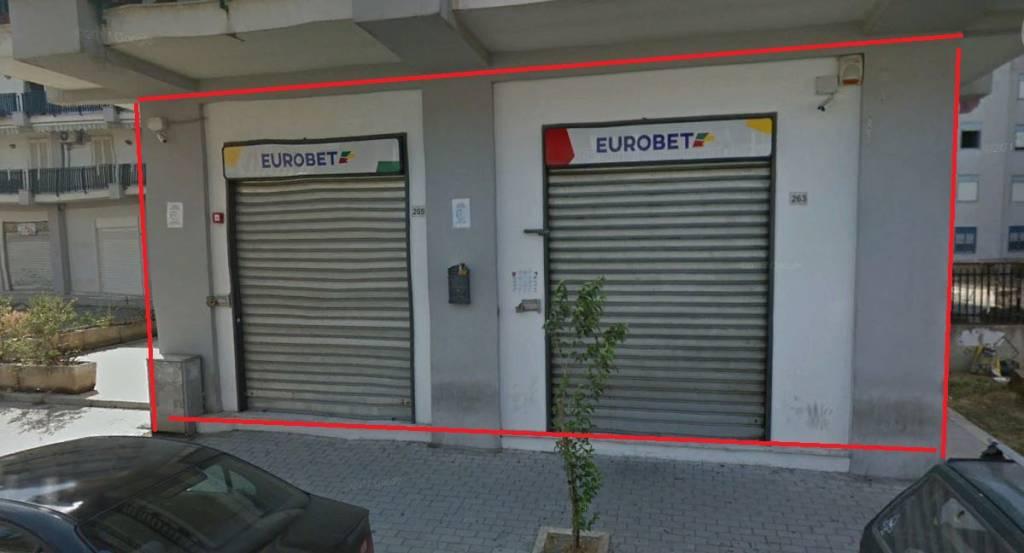Ampio Locale commerciale di 252 mq su via Napoli