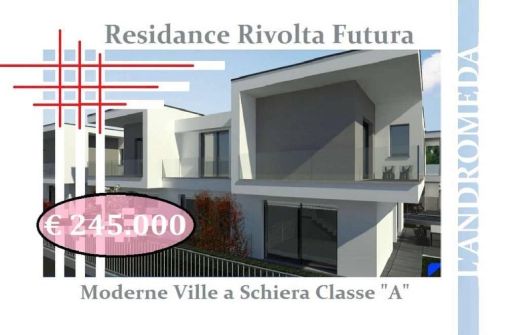 Villa in vendita a Rivolta d'Adda, 4 locali, prezzo € 245.000 | PortaleAgenzieImmobiliari.it
