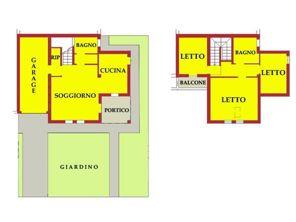 Villa in vendita a Bigarello, 5 locali, prezzo € 77.719 | CambioCasa.it