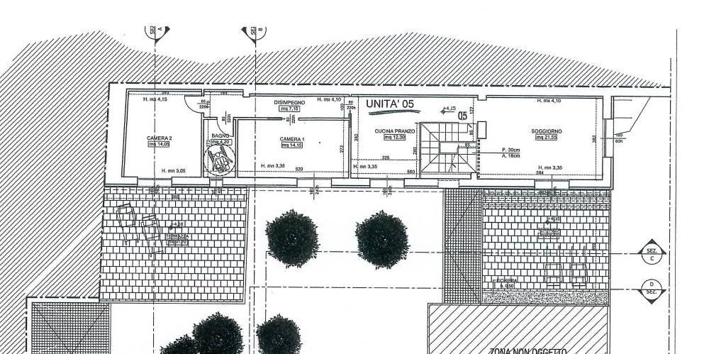 Quattro vani stile loft