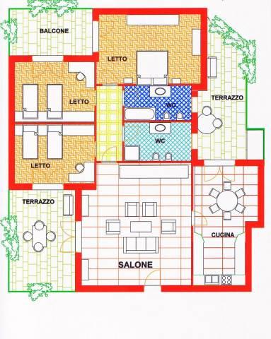 Appartamento ottimamente rifinito