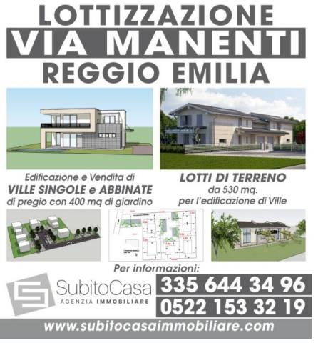 Terreno edificabile in vendita a Reggio nell'Emilia (RE)