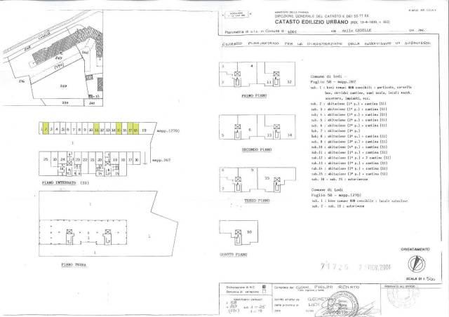 Box auto - Posto auto LODI vendita    Studio Tecnico Geom. Renato Piolini