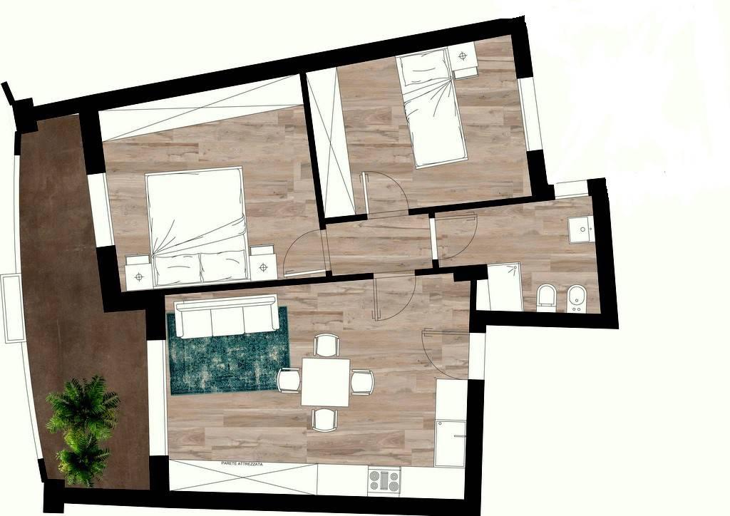 Appartamento in vendita a San Clemente, 3 locali, prezzo € 155.000 | CambioCasa.it