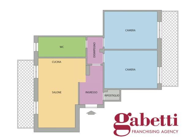 Appartamento in ottime condizioni in vendita Rif. 6701757
