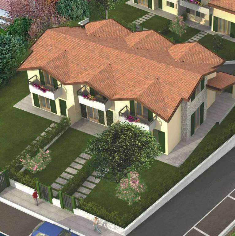 Villa in vendita a Lurate Caccivio, 4 locali, prezzo € 340.000 | PortaleAgenzieImmobiliari.it