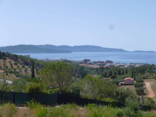 Terreno agricolo con bellissima vista mare