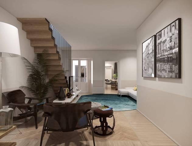 Appartamento in Vendita a Milano 01 Centro storico (Cerchia dei Navigli): 3 locali, 156 mq