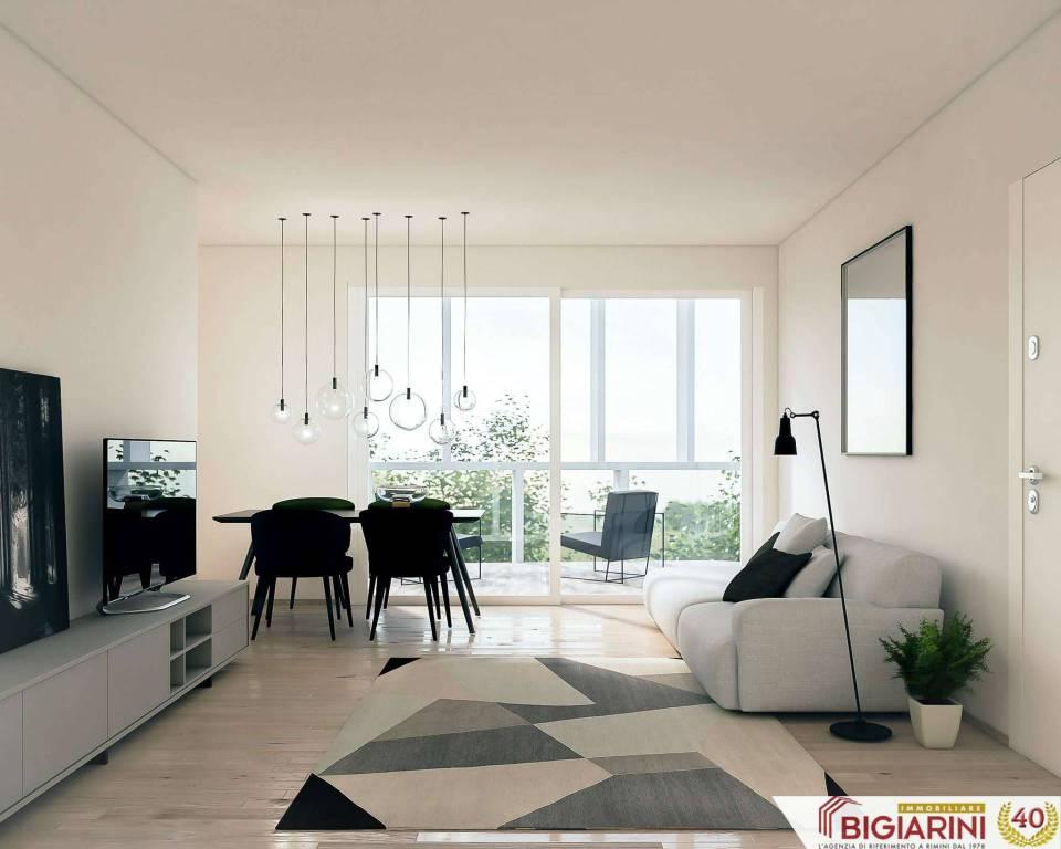 Appartamento in vendita a Rimini, 3 locali, prezzo € 290.000 | CambioCasa.it