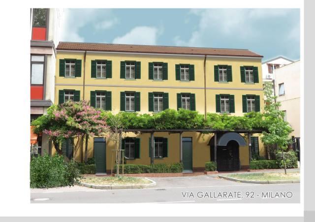 Appartamento in vendita 3 vani 73 mq.  via Gallarate 92 Milano