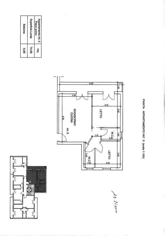 Appartamenti di Nuova Costruzione diverse quadrature