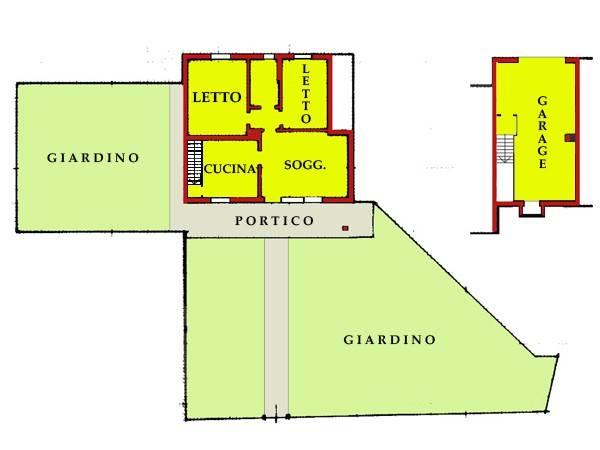 Appartamento in buone condizioni in vendita Rif. 7001360