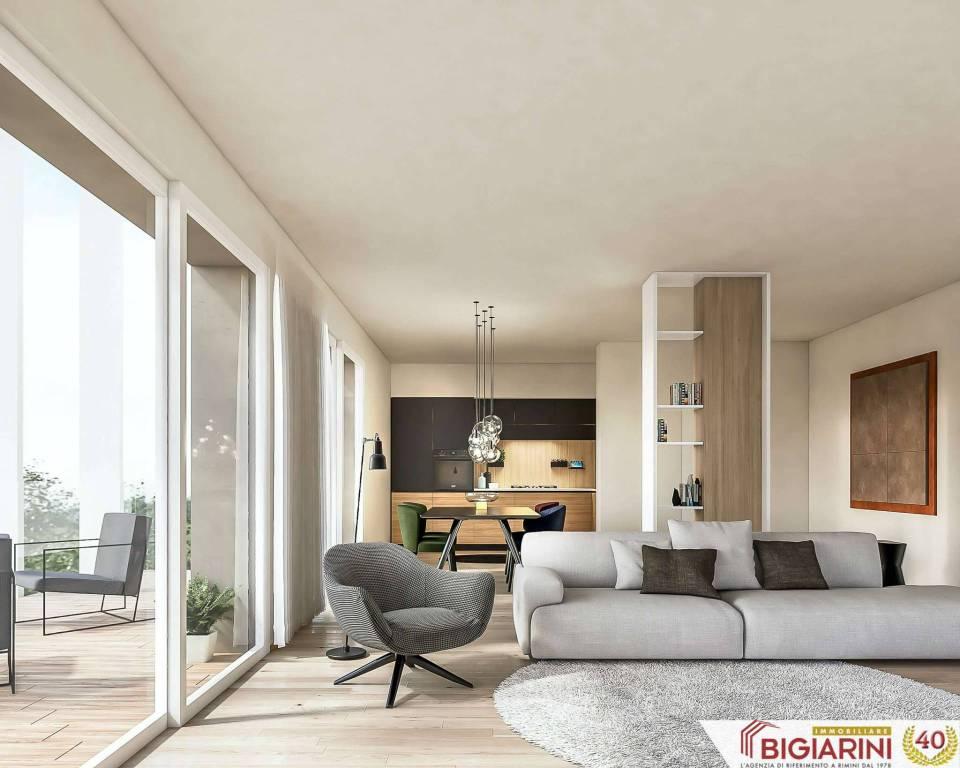 Appartamento in vendita a Rimini, 7 locali, prezzo € 373.000 | CambioCasa.it