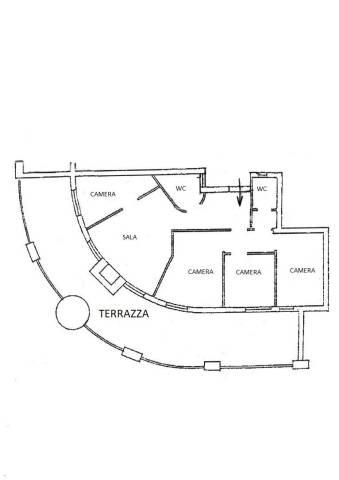 Appartamento da ristrutturare in affitto Rif. 7057670