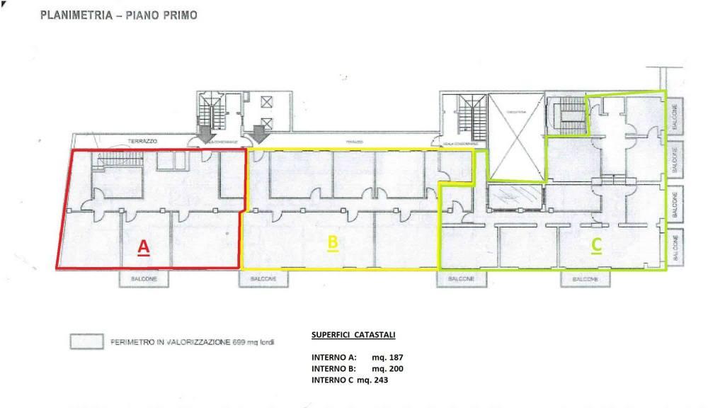 Ufficio / Studio in affitto a Crema, 15 locali, prezzo € 100 | PortaleAgenzieImmobiliari.it
