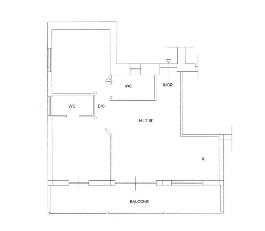 Appartamento in ottime condizioni in vendita Rif. 7108084