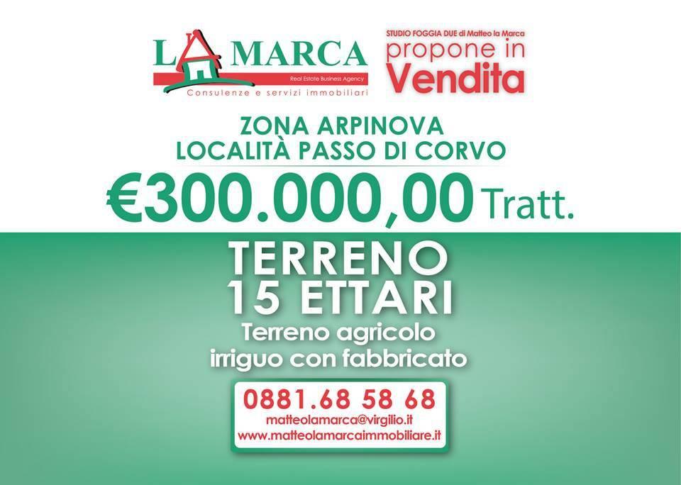 Terreno agricolo - Zona Arpinova Rif. 4802742