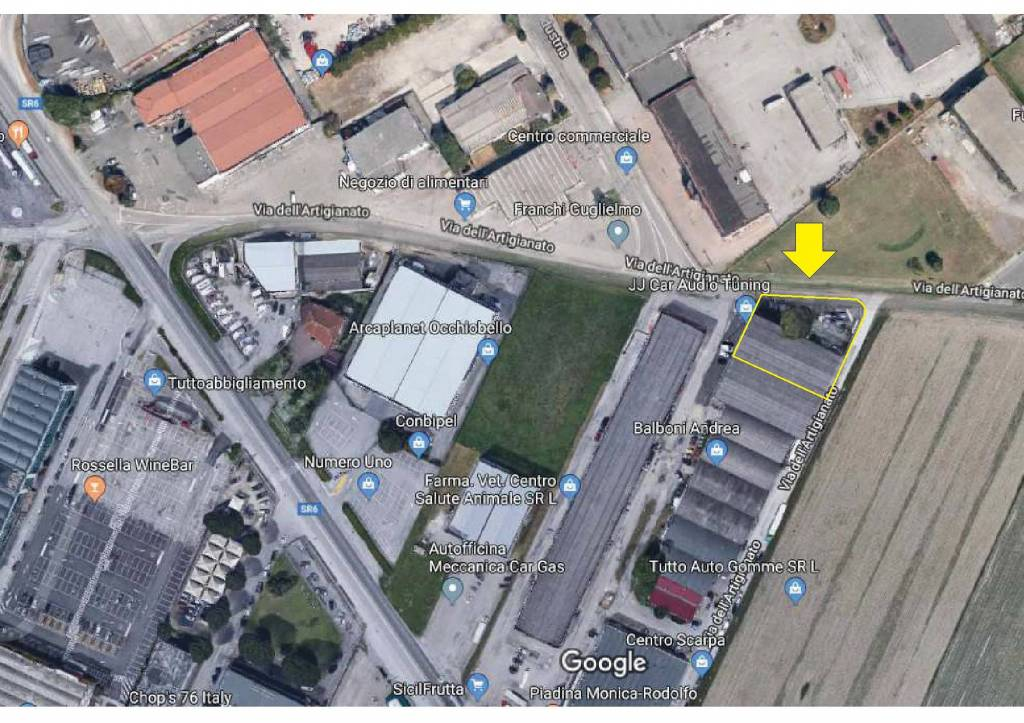 Capannone in vendita a Occhiobello, 2 locali, prezzo € 160.000 | CambioCasa.it