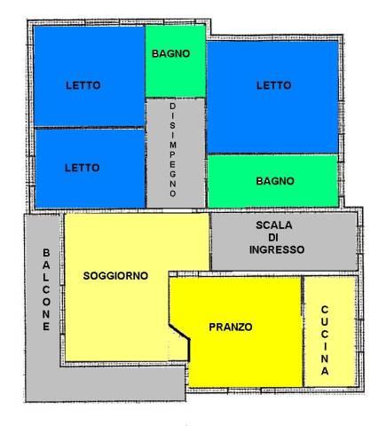Appartamento in buone condizioni in vendita Rif. 7199565