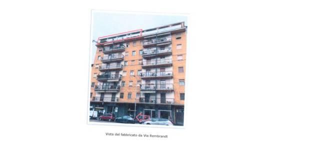 Appartamento in vendita 6 vani 134 mq.  via Rembrandt 60 Milano