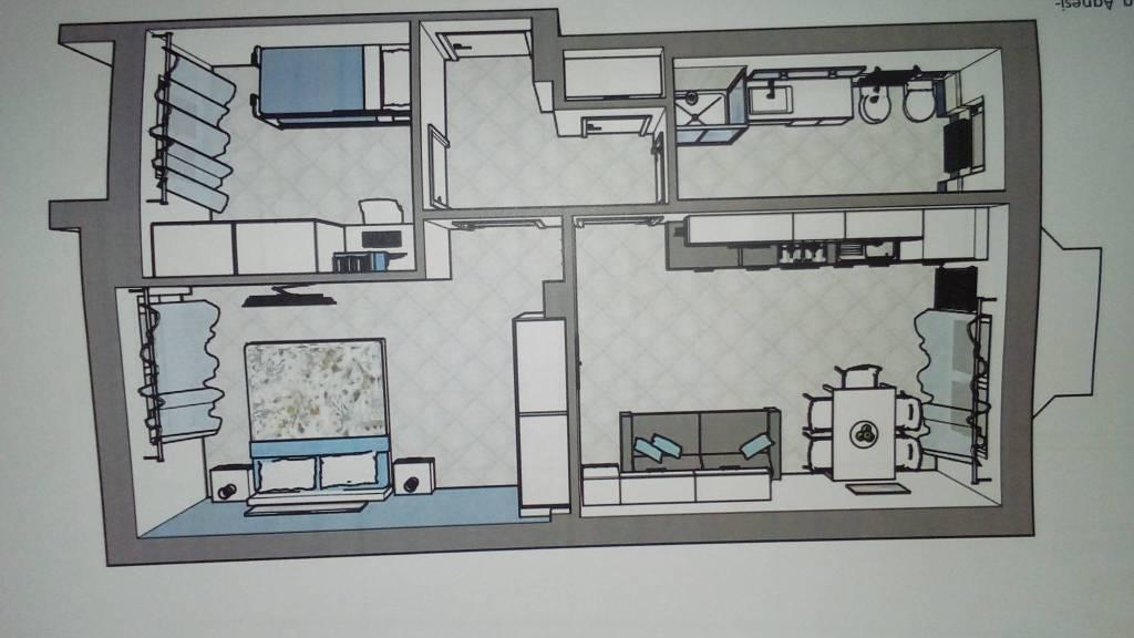 Appartamento trilocale in vendita a Diano Marina (IM)