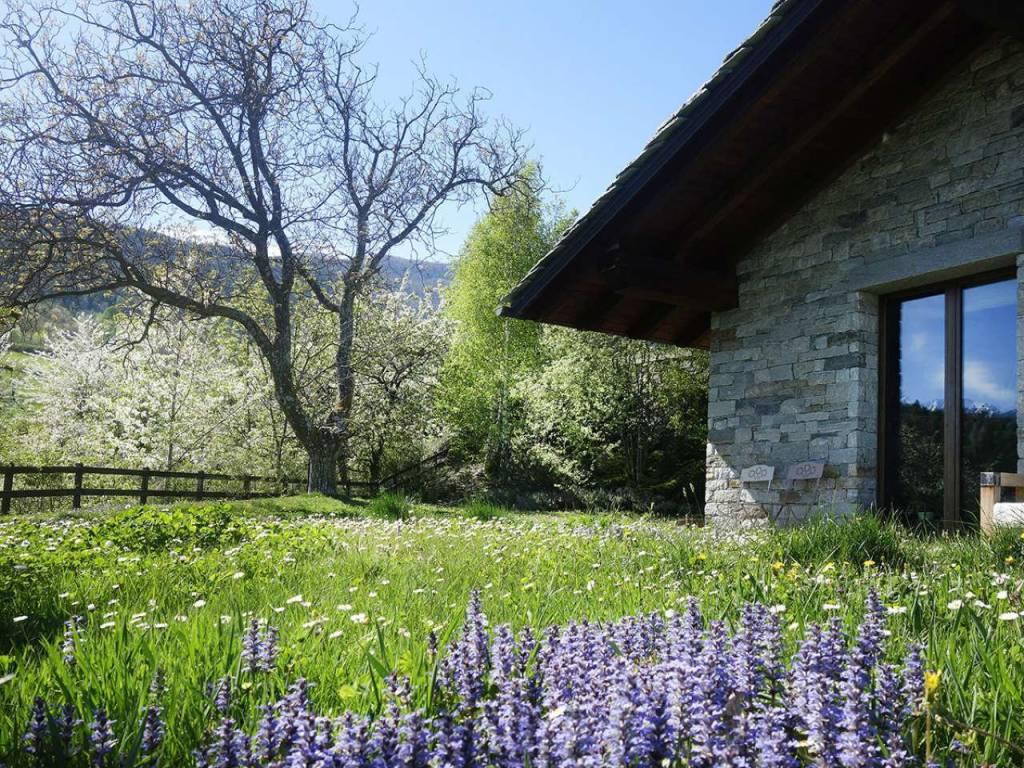 Entrebin, meravigliosa villa con giardino
